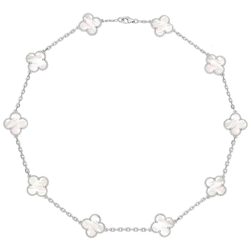 I want this! Van Cleef & Arpels Vintage Alhambra Necklace