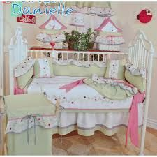 Brandee Danielle Ladybugs Crib Bedding Collection
