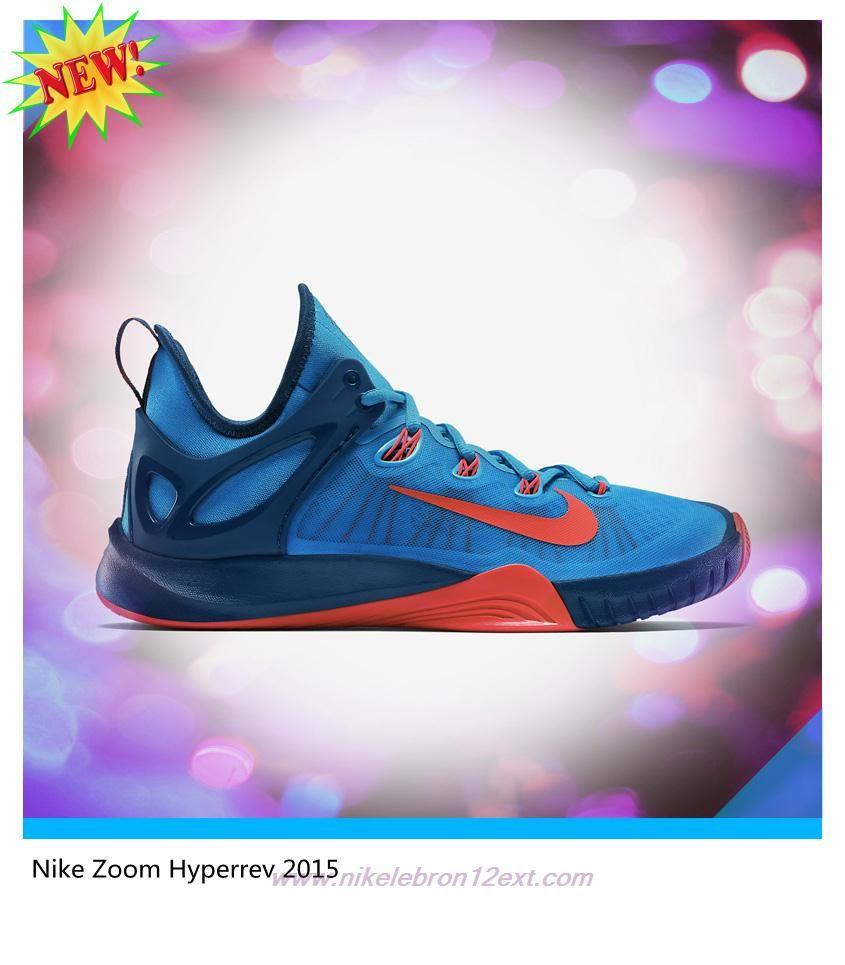 sale retailer f0dac 4f574 Cheap 705370-464 Nike Zoom Hyperrev 2015 Blue Lagoon Blue Force Bright  Crimson