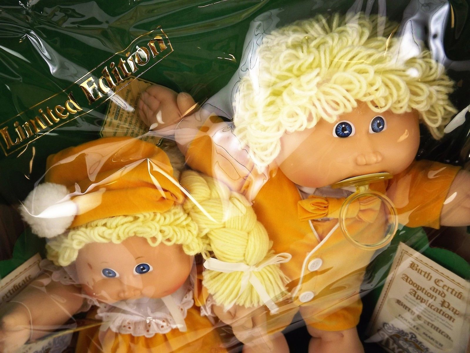 Vintage Limited Edition 1985 Cabbage Patch Boy Girl Twin Dolls In Original Box Twin Dolls Cabbage Patch Dolls Boy Girl Twins