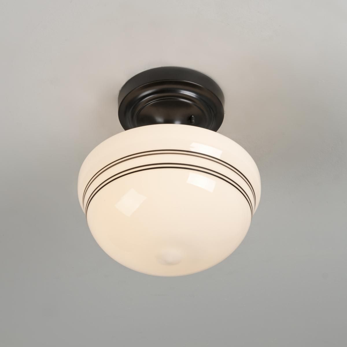 striped schoolhouse ceiling light schoolhouse is in. Black Bedroom Furniture Sets. Home Design Ideas