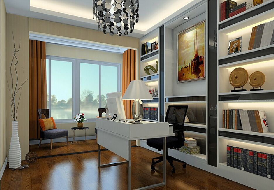 elegantstudyroomlightingdesignjpg 937649  Home Office