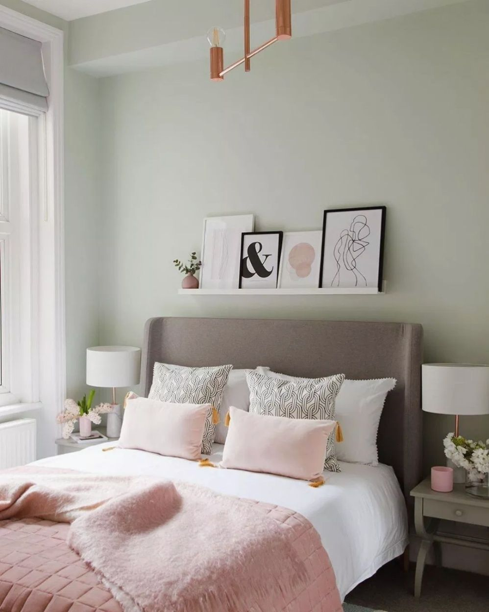 Mint Farbe Schlafzimmer