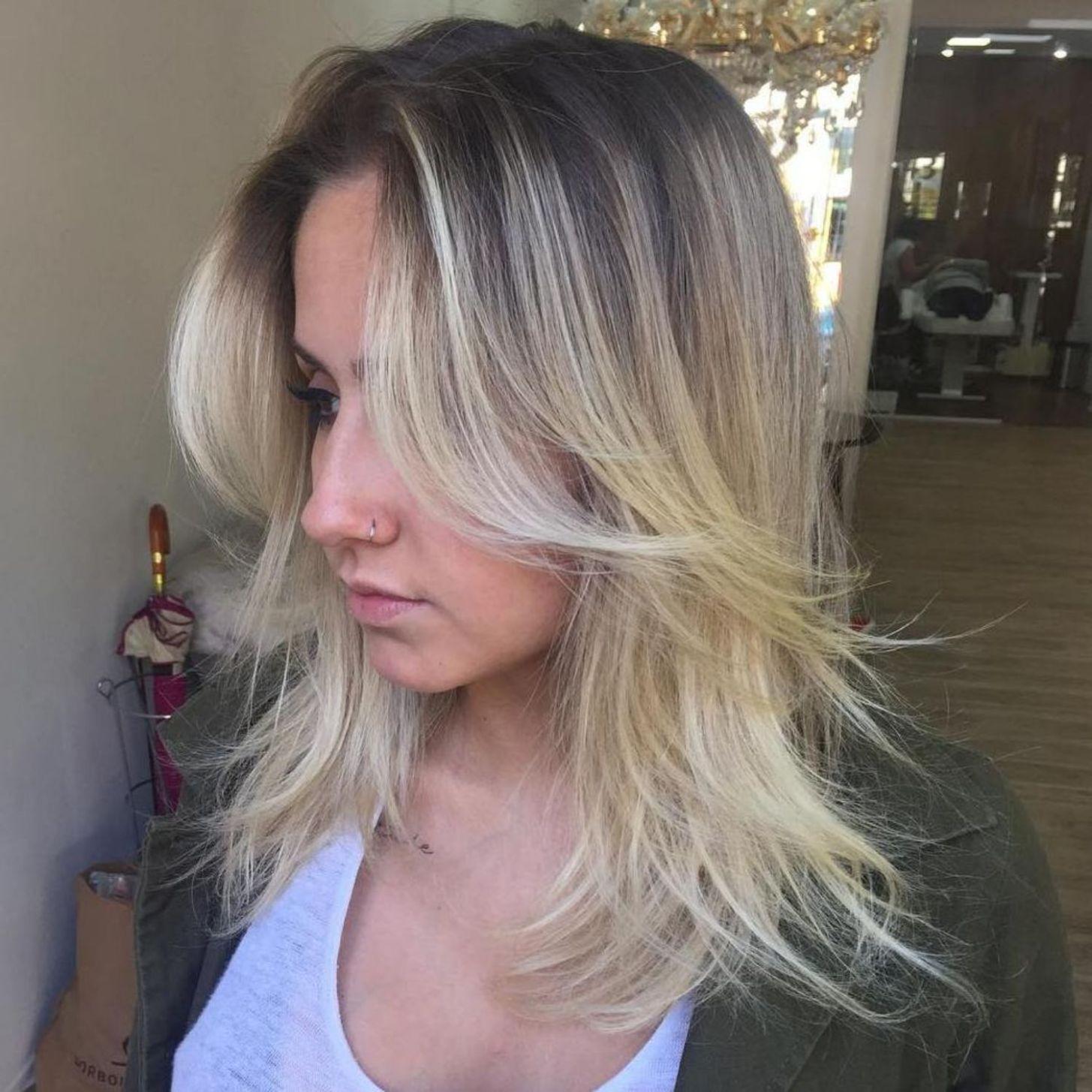 11 Perfect Medium Length Hairstyles for Thin Hair  Frisuren