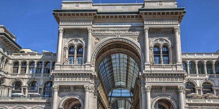 Galleria Vittorio Emanunele II, Milan, northern Italy, Italy, Europe