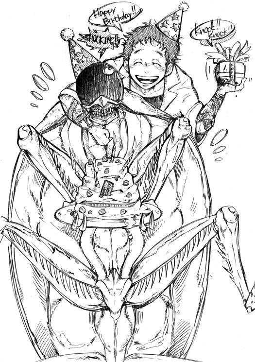 Kasukabe e Jonson Ideias para desenho, Desenho