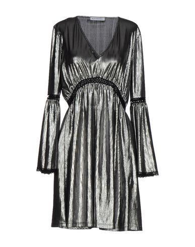 ANGELA MELE MILANO Women's Short dress Grey 10 US