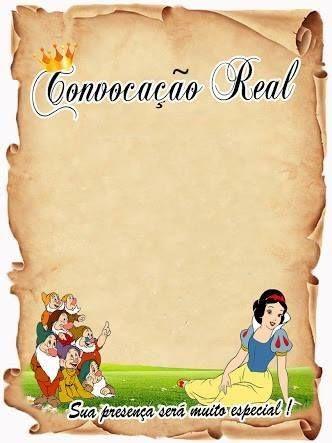 Convite - Convocação Real