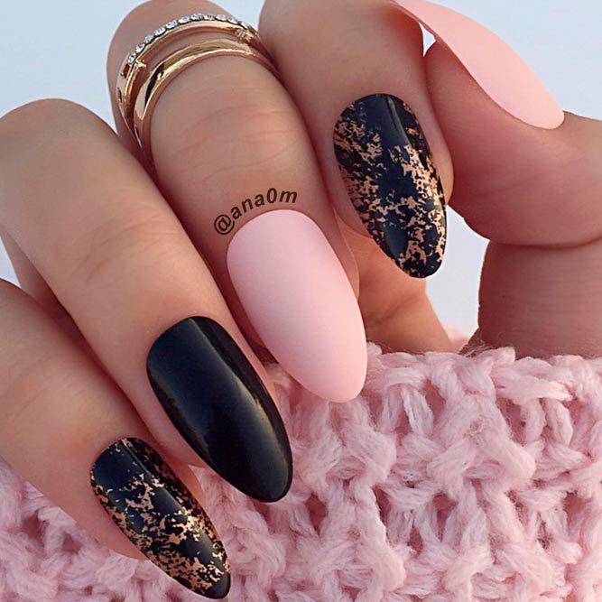 Black Acrylic Nail Designs Graham Reid