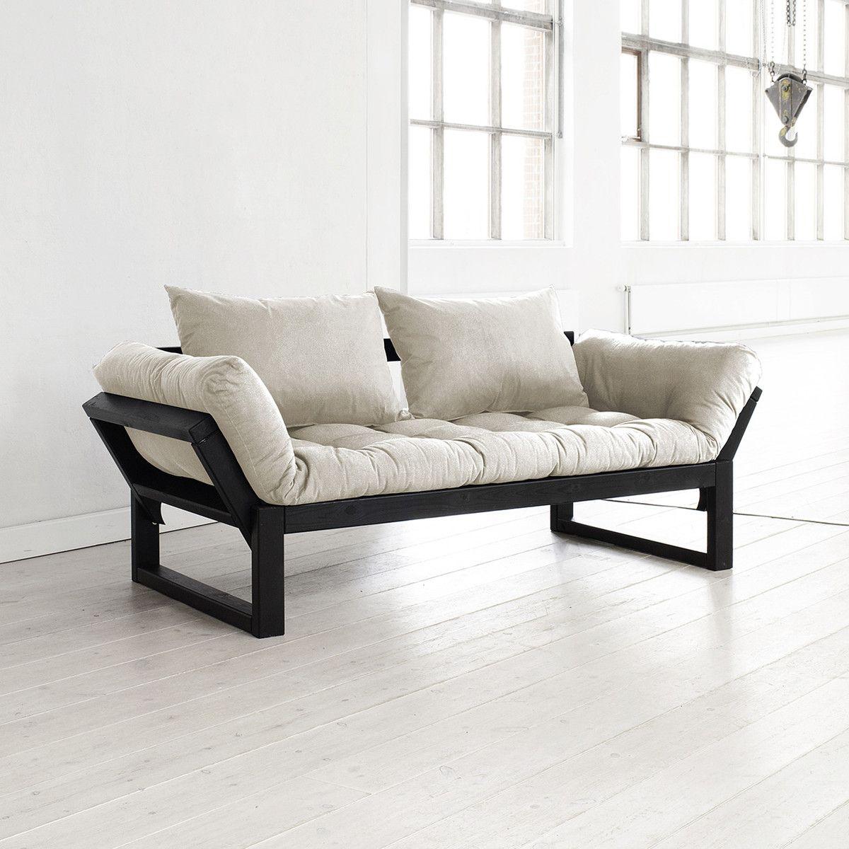 Edge Sofa Rozkładana Z Materacem Futon I Poduszkami Karup Meble