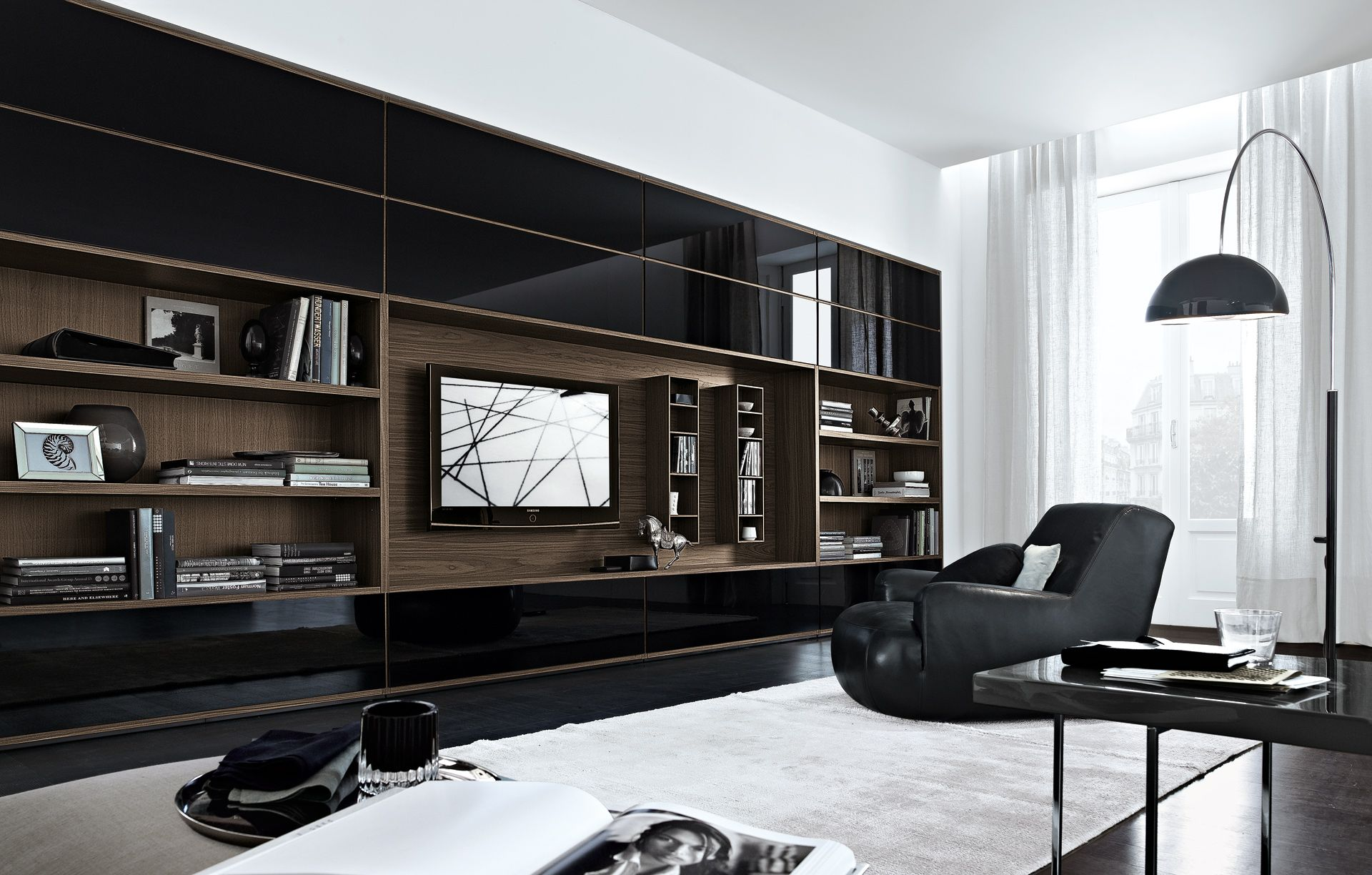 Living room ideas with beautiful wall units design - Beautiful wall designs for living room ...