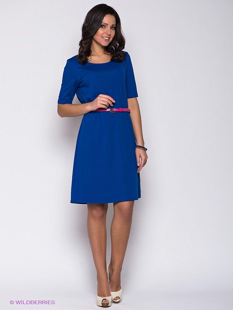 Платье PELICAN. Цвет фуксия. Категории: Летние платья, Платья, Повседневные платья.
