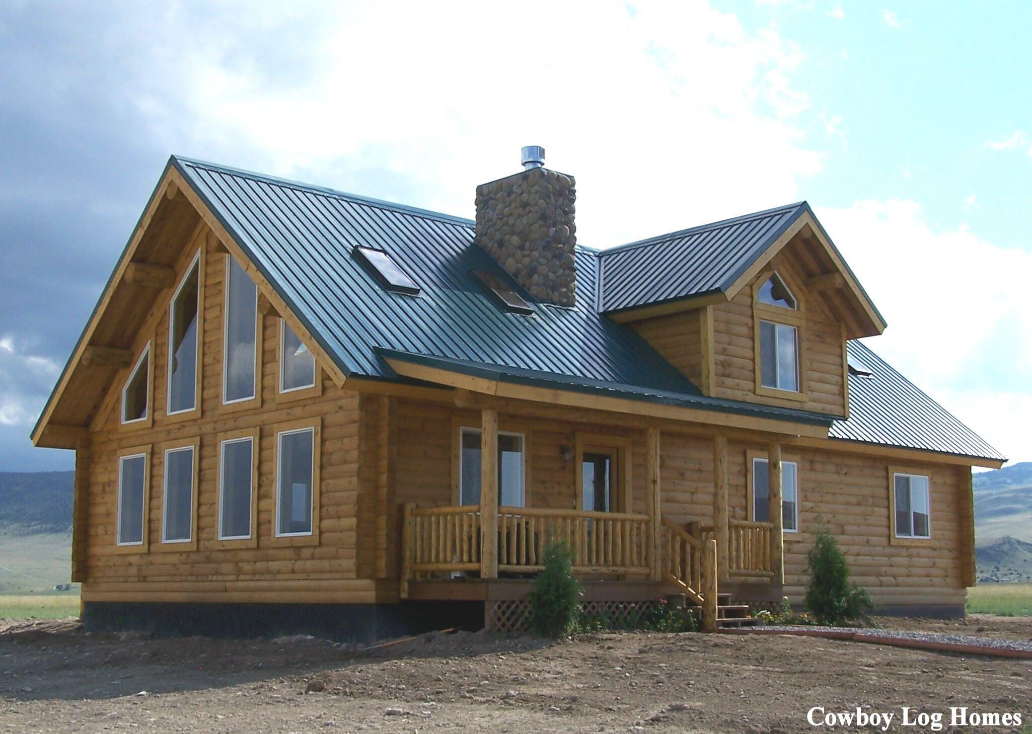 Cowboy Western House Plans Cowboy Log Homes Building