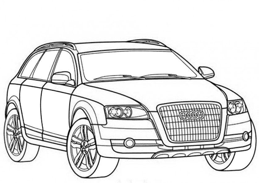 Ausmalbilder Audi Q7 Kostenlos Audi Ausmalbilder