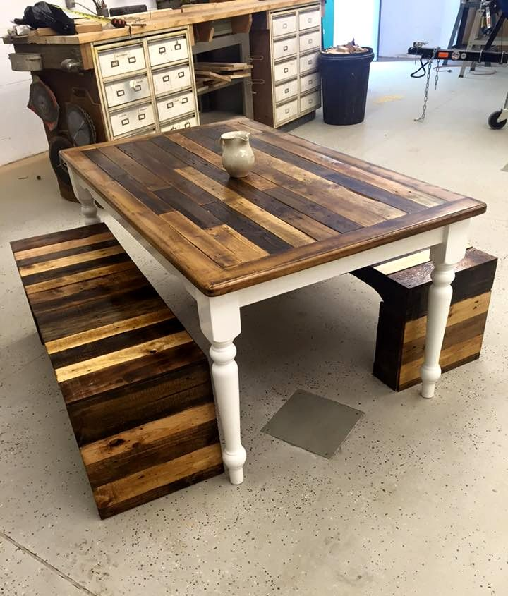 Buy Woodworking Tools With A 1000 00 Amazon Gift Card In 2020 Pallet Dining Table Wooden Pallet Furniture Wooden Pallet Projects