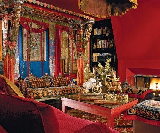 A Tibet Inspired Apartment In New York With Images Residential