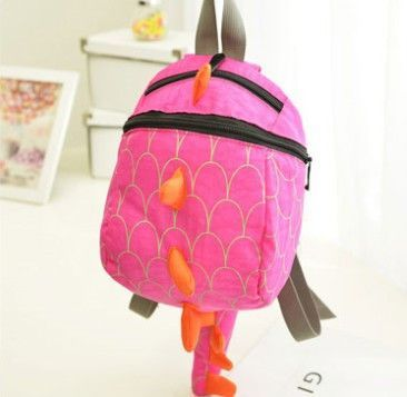 4bde02fcc0 Kids backpack Cotton dinosaurs school bags mochila infantil Cartoon animals  small bag Boys Girls bag school Free shipping!