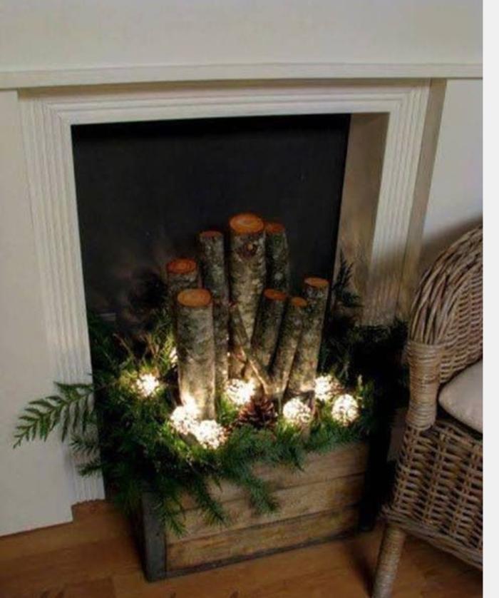 Como Hacer Una Chimenea Con Cajas De Carton Decorar Chimeneas Decoracion Navidad Cosas De Navidad