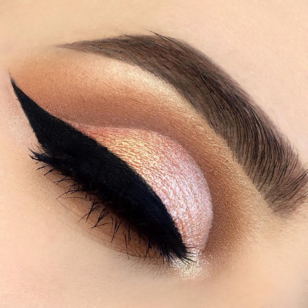 Metallic Nude Eye Shadow Palette - eye makeup #makeup ideas #makeupideas #eyemakeup
