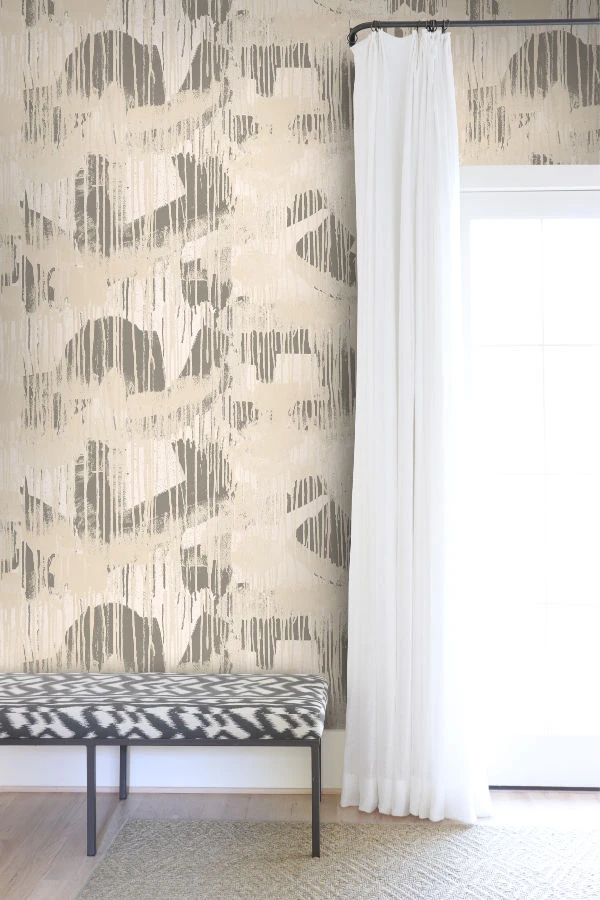 1 Cloud Room Ivory Wallpaper Angela Simeone In 2020 Standard Wallpaper Bronze Wallpaper Wallpaper
