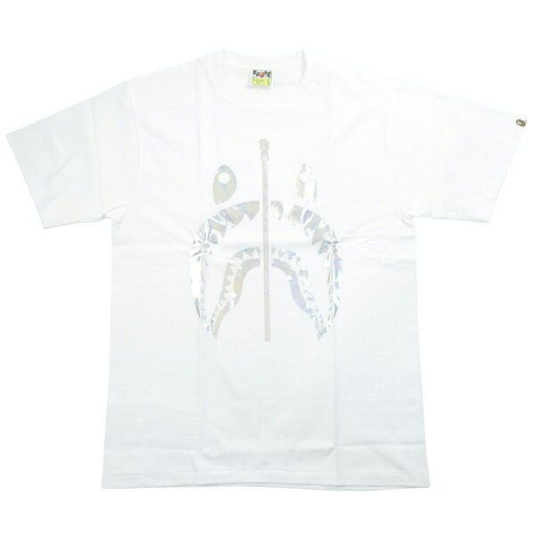 5557b5901 A BATHING APE HOLOGRAM SHARK TEE T-shirt WHITE L - Shark Tshirt - Latest