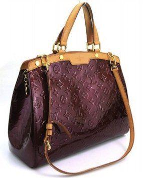 1de067299d62 Louis Vuitton Vernis Leather Rouge Fauviste Brea Gm Hand Shoulder Bag  2