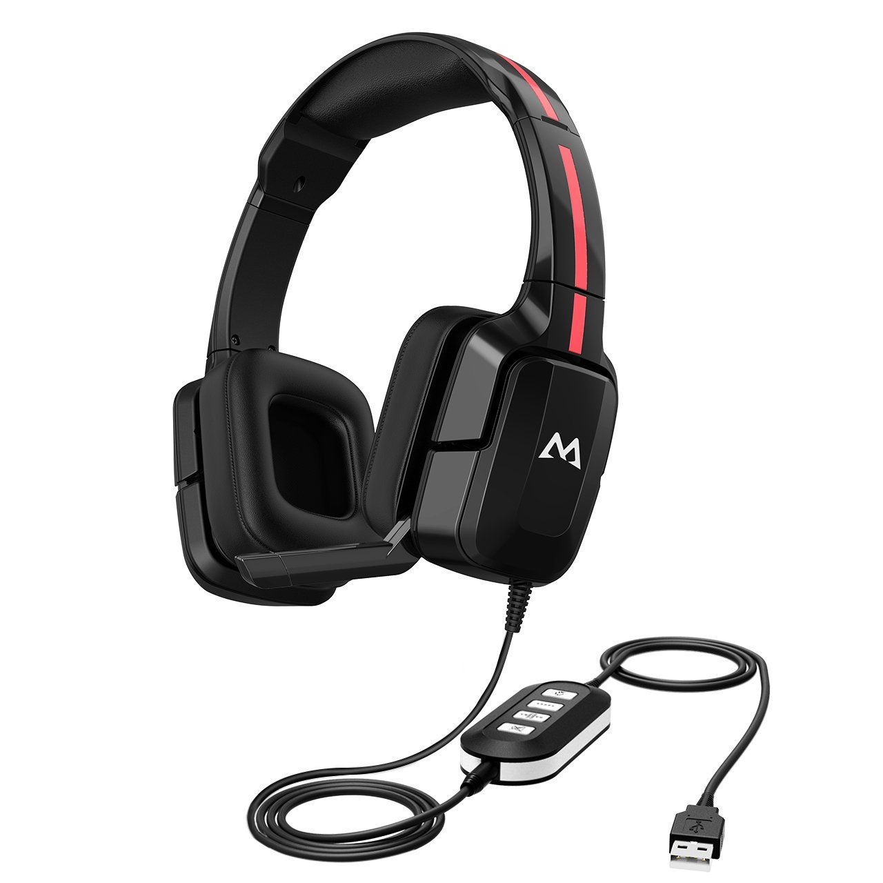 Mpow Eg2 Gaming Headset For Pc Xbox One Ps4 Lightweight Wired Gaming Headphones Laptop Computer 3 5mm Usb Headset Headset Gaming Headphones Usb Headphones