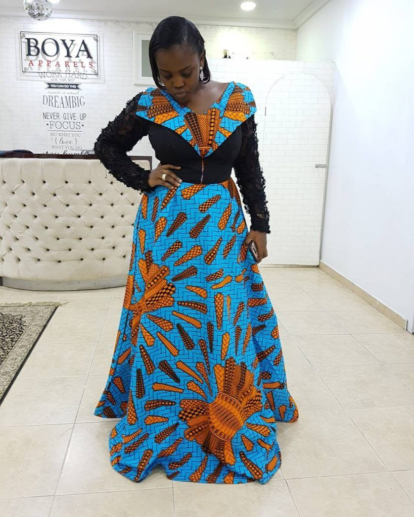 Ankara prints are every African woman\'s favourite. Whether it\'s a ...