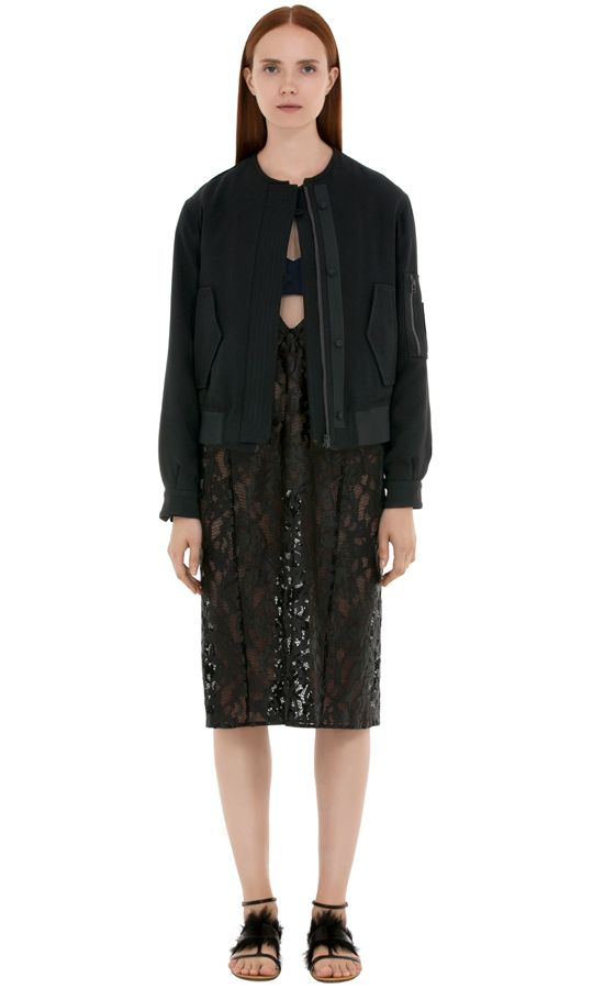 #bomber jacket from Koonhor is perfect for #fall