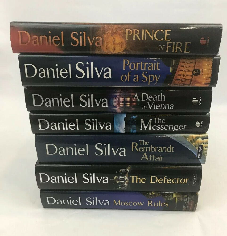 Daniel silva book lot hardback set prince vienna moscow