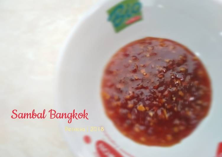 Resep Sambal Bangkok Oleh Petricia Resep Resep Makanan Makanan Pedas Makanan