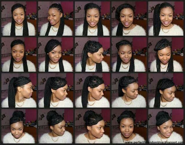 20 Ways To Style Your Box Braids Box Braids Hairstyles Box Braids Hair Affair