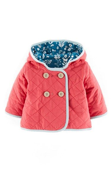 Mini Boden 'Cosy' Quilted Reversible Jacket (Baby Girls) available ... : baby quilted jacket - Adamdwight.com
