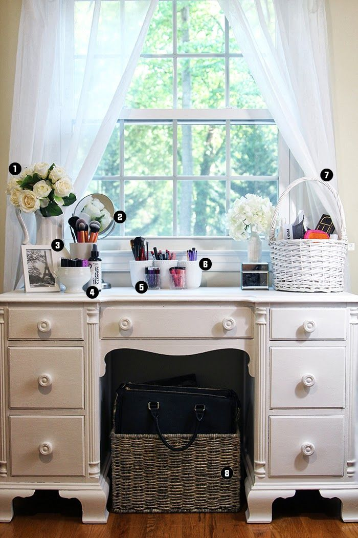 Erica F E Vanity Tour Vanity Organization Home Goods Mirrors Vanity Home