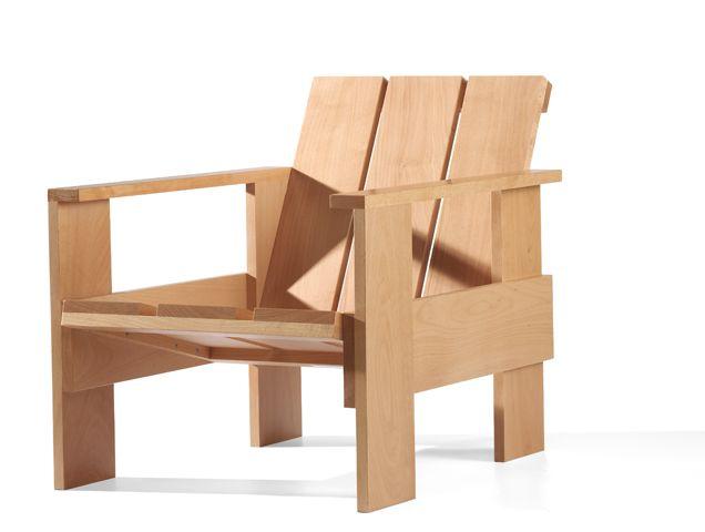 Gerrit Rietveld Kratstoel : Kratstoel gerrit rietveld chair chair furniture