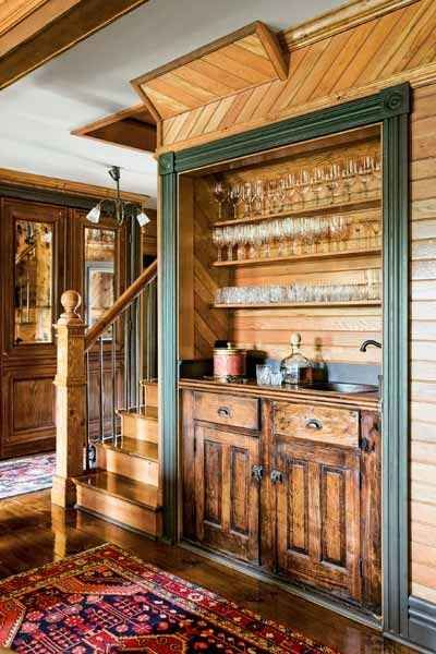 6 Or Turn A Little Used Entry Closet Into A Wet Bar In