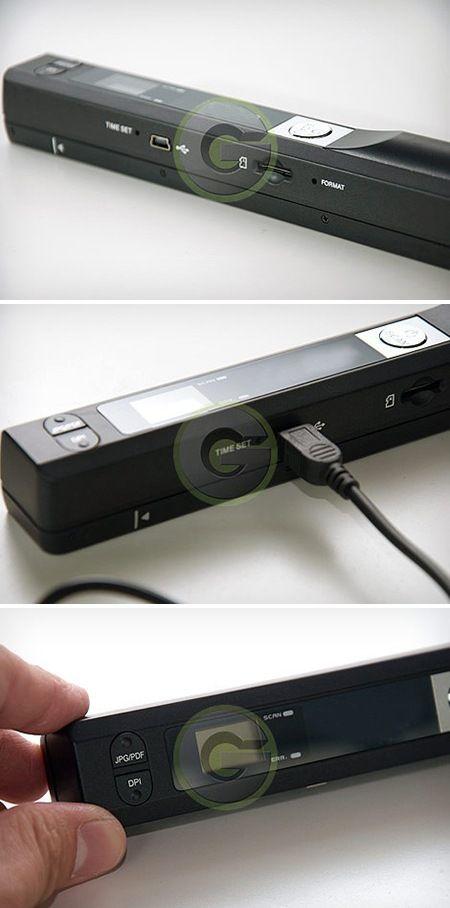 Portable Hand-held Scanner