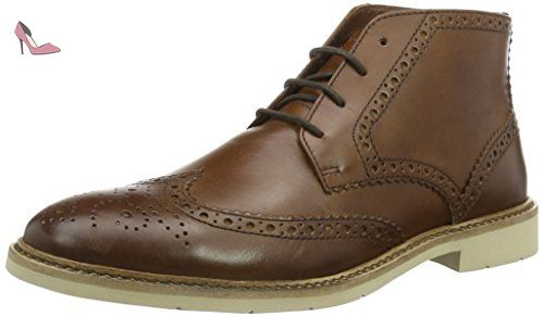 Tommy Hilfiger M2285etro 1a, Brogues Homme, Marron (Brown