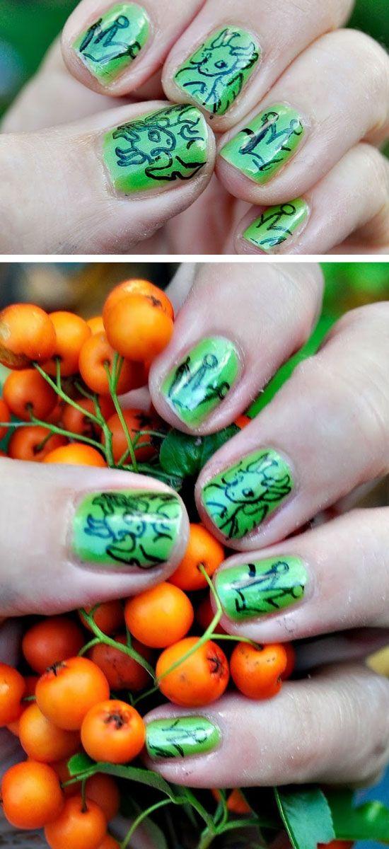 20 Spooky Nail Art Ideas For Halloween