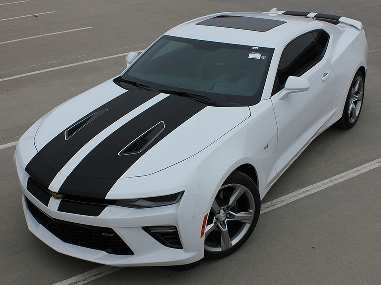 2016 Camaro Duel Rally Stripes Cam Sport 2016 2017 2018 3m 1080 Series Wrap Film Chevy Trucks New Sports Cars Sports Cars