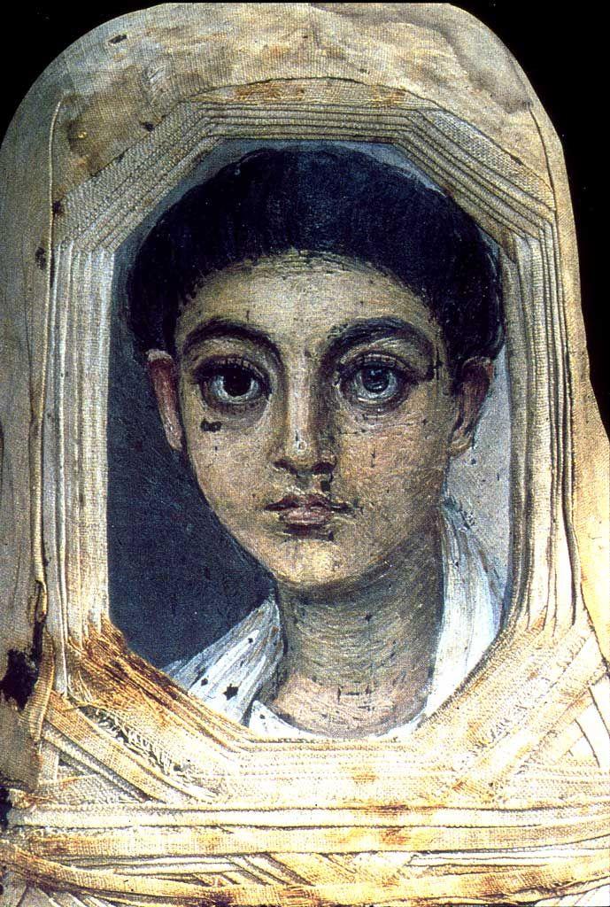 Fayum Portraits. A Young Boy, Location TBD