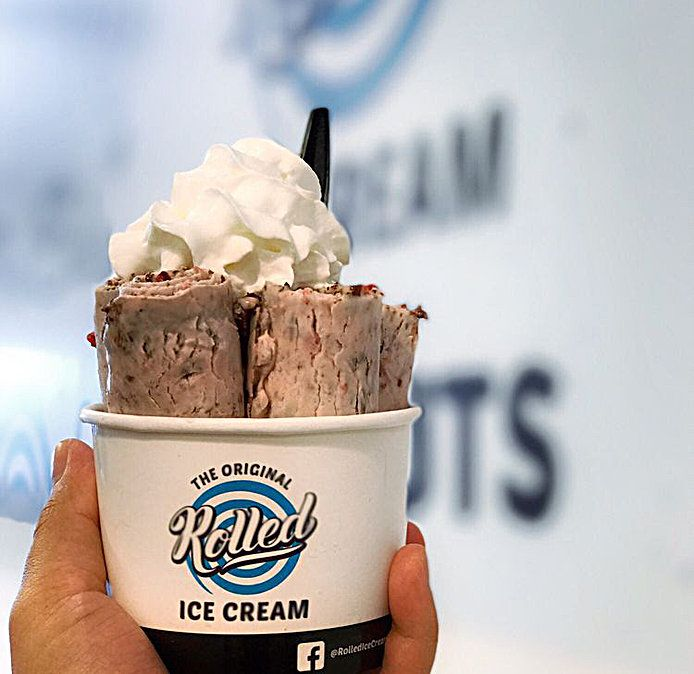 Image result for rolled ice cream las vegas