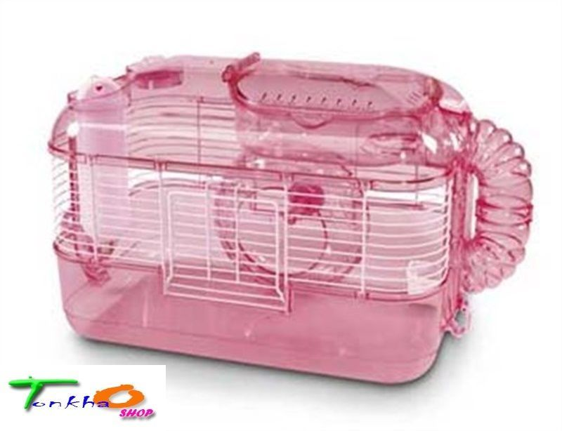 Small Pets Cages Critter Trail One Habitat Pink Hamsters Gerbils