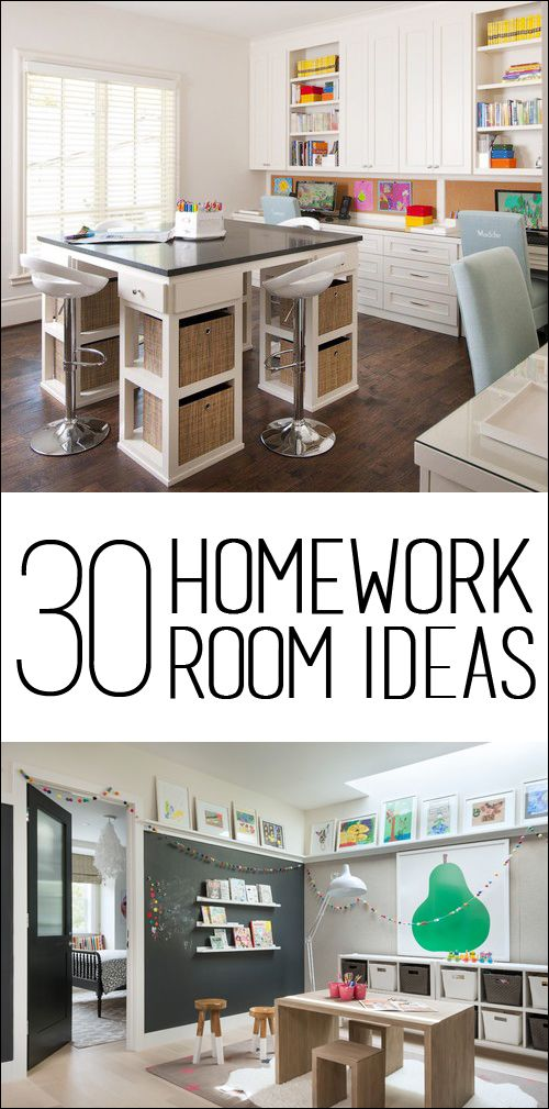 30 Homework Room Ideas Small rooms, Homework and Room ideas
