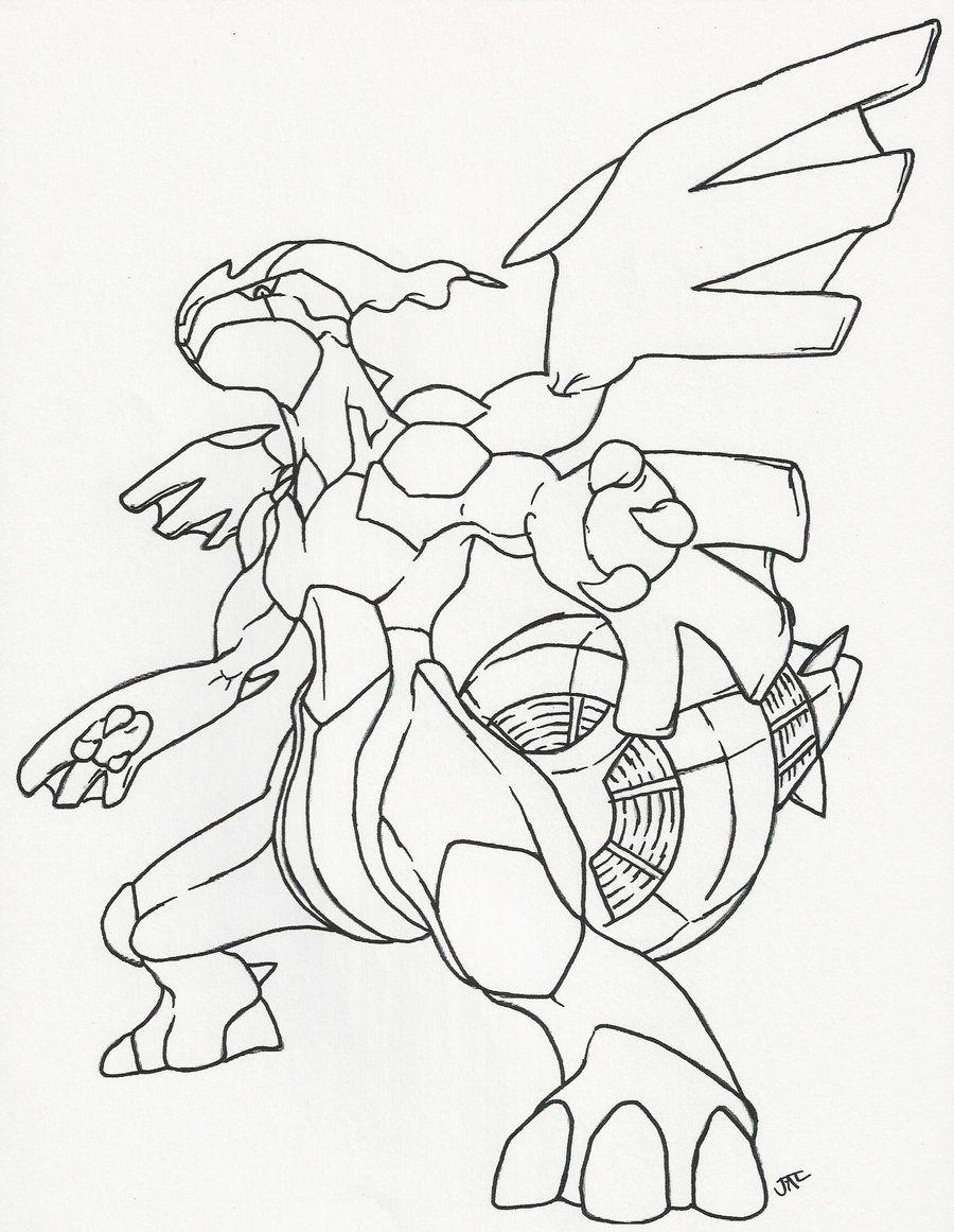 Zekrom Line Art by neodragonarts (With images) Pokemon