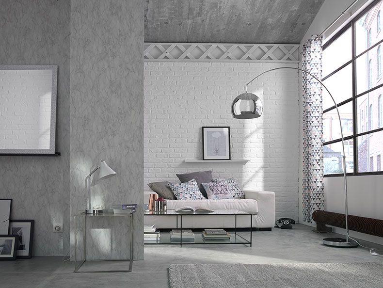 Pure alchimie - Dans un intérieur apaisant en gris et blanc, on aime
