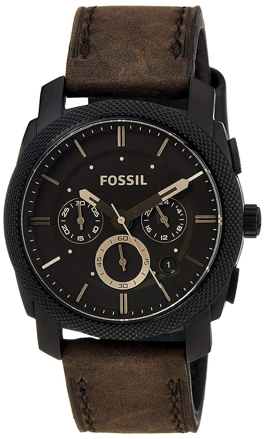 Make a statement with this dramatic timepiece featuring a