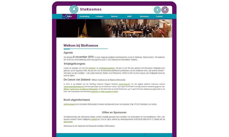 Voor onze trouwe klant #stokosmos houden wij de website actueel. Ook benieuwd naar onze service?