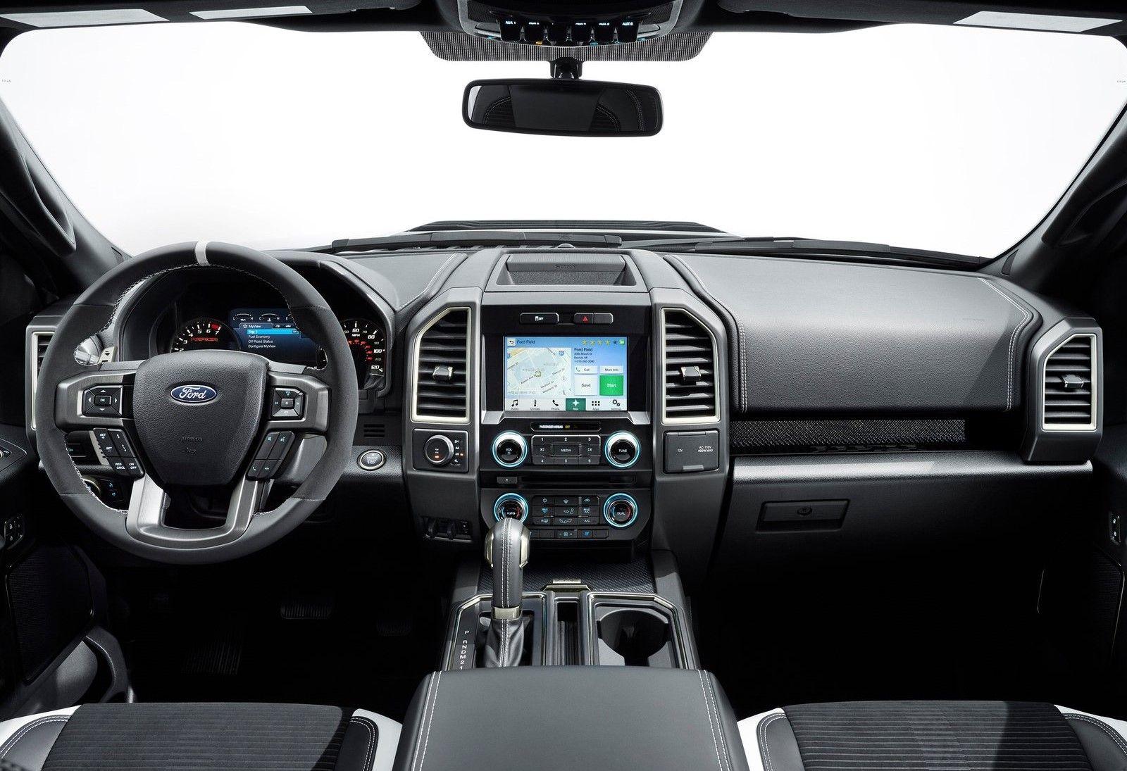 Presenca Confirmada Ford Raptor Ford Ranger Interior Ford