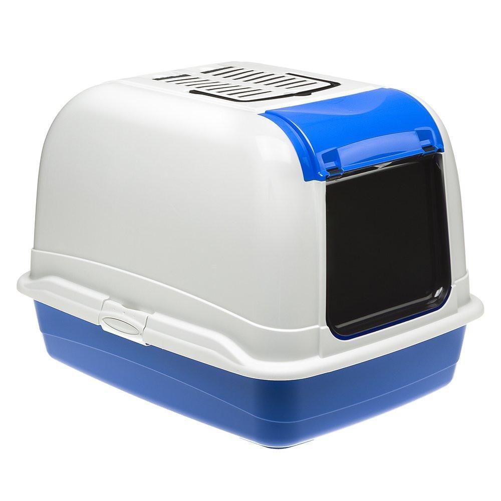 Ferplast Maxi Bella Cabrio Cat Toilette Home Blue Cat